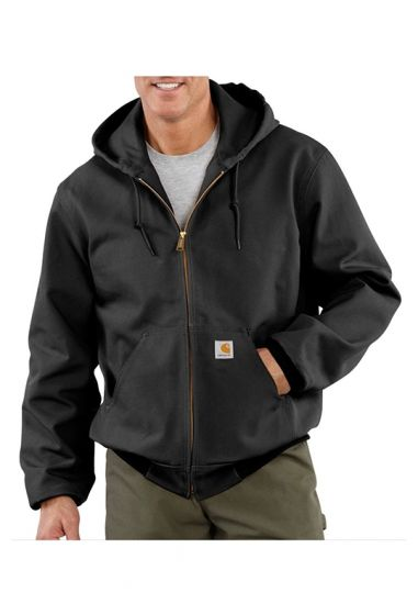 well known shades of pretty cool Carhartt UJ131 - USA/Union made Men's Duck Active Thermal Lined Jacket