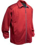 Men's Full ZIp Soft Shell Fleece Jacket with chest pocket