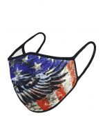 Patriotic Eagle Face Mask