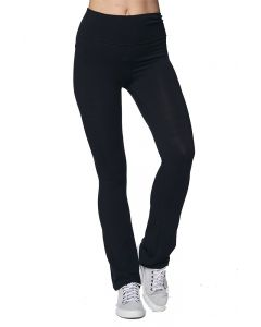 Combed Spandex Jersey Yoga Pant - Made in USA