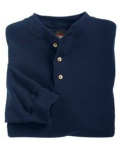 Union Line 10728 Thermal Long Sleeve Henley - Made in USA