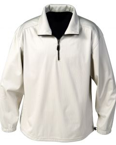 Waterproof Polyester 1/4 Zip Windshirt - Made in USA