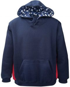 Hooded Patriotic Sweatshirt