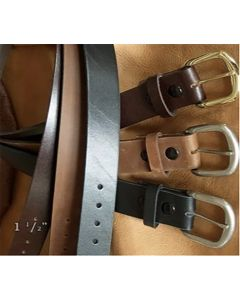 ALL USA Clothing Casual Leather Belt