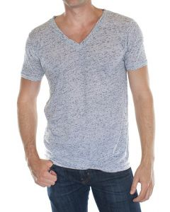 RA20055 Unisex Triblend V-neck - Made in USA