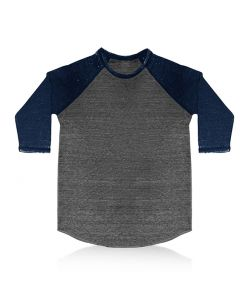 Unisex Triblend Raglan Baseball Burnout Wash