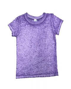 Toddler Burnout Wash Short Sleeve Girls Tee