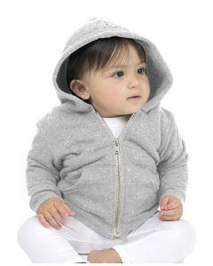 Infant Triblend Fleece Zip Hoody - Made in USA