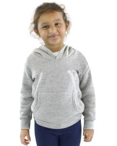 Toddler Triblend Fleece Pullover Hoody - Made in USA