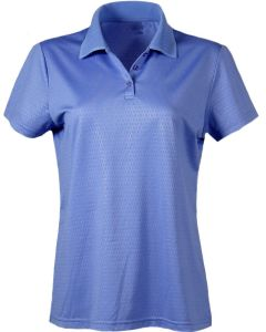 Embossed Women's Polo Shirt