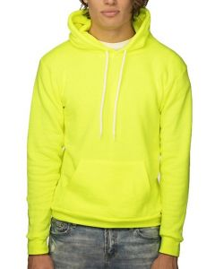 Unisex Fashion Fleece Neon Pullover Hoody