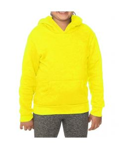 Youth Fashion Fleece Neon Pullover Hoody