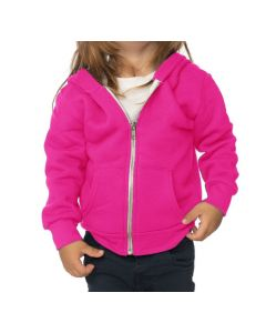 Infant Fashion Fleece Neon Zip Hoody