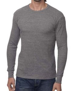 Unisex eco Triblend Heavyweight Thermal - Made in USA