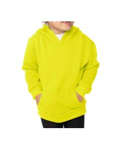 Toddler Fashion Fleece Neon Pullover Hoody