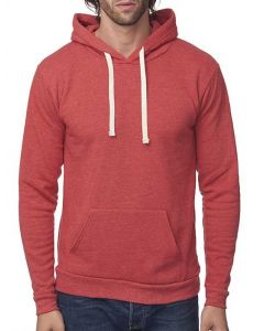 Unisex eco Triblend Fleece Pullover Hoody - Made in USA
