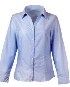 Ladies Button Down Oxford Shirt
