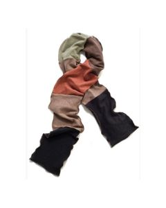 Ladies Organic Multi-Color Scarf - Made in USA
