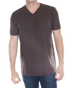 Men's Organic Short Sleeve V-neck