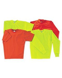Camber 605 Hi-Vis Long Sleeve T-Shirt - Made in USA