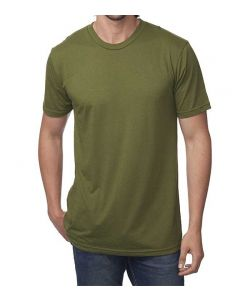 Unisex Viscose Hemp ORGANIC Cotton Tee - Made in USA