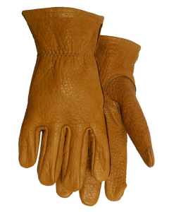 American Made Buffalo Leather Work Gloves