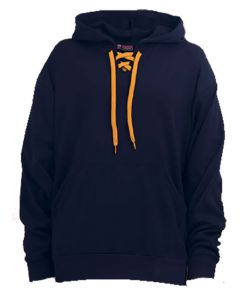 King Louie 6700 Playmaker Lace-Up Hooded Performance Fleece