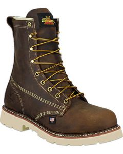Thorogood 804-4379 American Heritage – 8″ Trail Crazyhorse Safety Toe – Plain Toe Boot Maxwear90