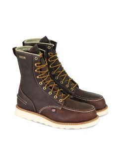 Thorogood 804-3800 1957 Series – Waterproof – 8″ Briar Pitstop Safety Toe Moc Toe