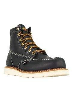 Thorogood 814-6201 6″ Black Moc Toe – Maxwear Wedge