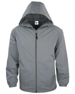 American Made Men's Full Zip Wind Jacket - Made in USA