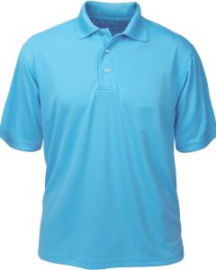Polyester Ottoman Men's Polo - Made in USA