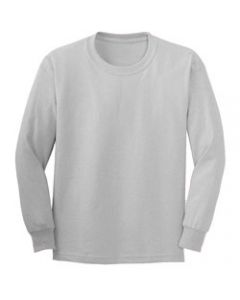 Bayside 2955 6.1oz Long Sleeve Union Made Tee Shirt