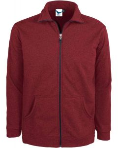 Men's Full Zip Textured Jacket