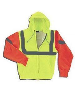Camber 131-CT-RF Arctic Thermal Heavyweight Contrast Reflective Zip Hooded Sweatshirt