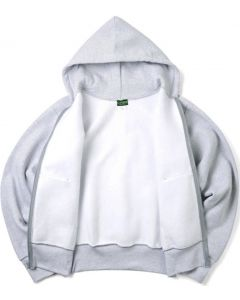 Camber 231 Cross-Knit 12-oz. Heavyweight Hooded Zip Sweatshirt