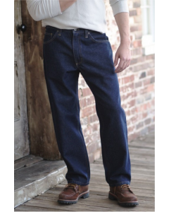 Diamond Gusset Regular Fit Industrial Blue