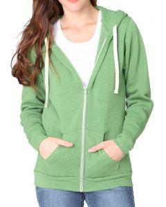 Organic RPET Fleece Hoodie - Made in USA
