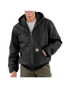 Carhartt UJ131 - USA/Union made Men's Duck Active Thermal Lined Jacket - Made in USA