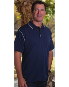 King Louie J3300 Edge Moisture Management Polo Shirt - Made in USA