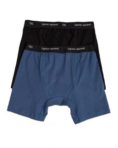 Bgreen MBB03 Functional Fly Organic Boxer Brief - Made in USA