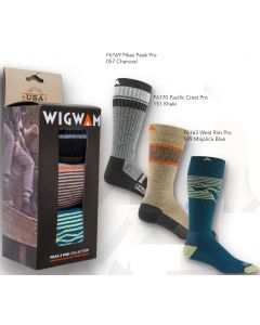 Wigwam S1510 Peak 2 Pub Three Pair Pack