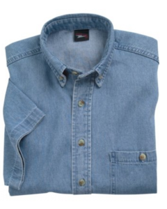 Union Line 10064 Short Sleeve Denim Shirt