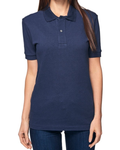 Women's/Unisex Organic Pique Polo Shirt