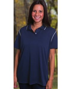 King Louie W3300 Lady Edge Moisture Management Polo Shirt