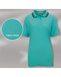 King Louie W6160 Lady Lava Moisture Management Polo Shirt - Made in USA