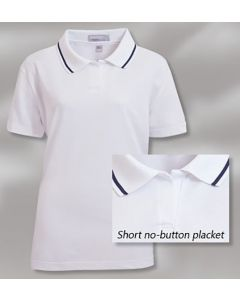 King Louie W7200 Lady Legend Moisture Management Polo Shirt - Made in USA