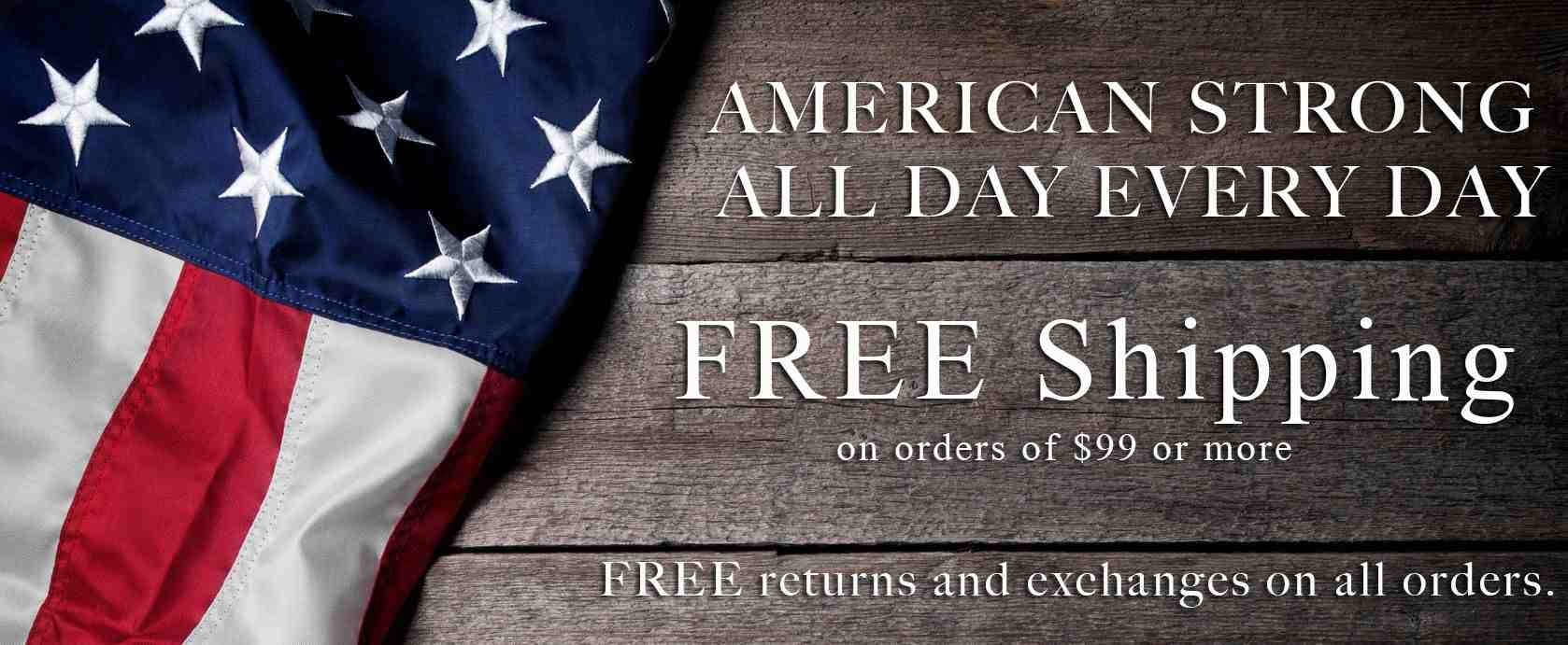 All USA Clothing | American Made, American Strong