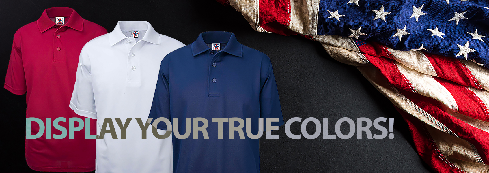 Show your True Colors | All USA Clothing