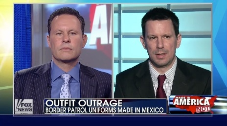 Border Patrol uniforms not made in USA